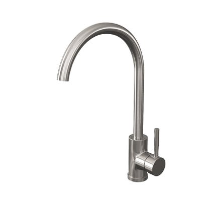 Reginox Clara Single Lever Kitchen Mixer Brushed Nickel
