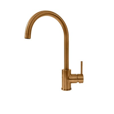 Reginox Clara Single Lever Kitchen Mixer Copper