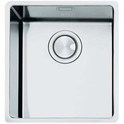 Smeg Mira 1.0 Bowl Undermount Sink 382mm Stainless Steel
