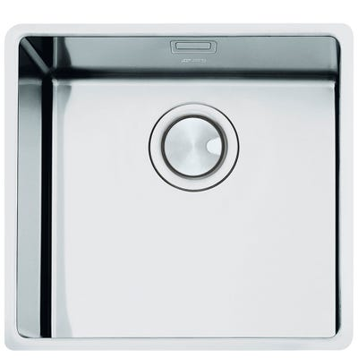 Smeg Mira 1.0 Bowl Undermount Sink 542mm Stainless Steel