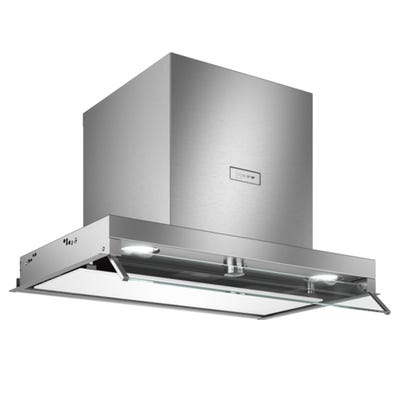 Neff D64XAF8N0B N70 60cm Built-In Canopy Hood Stainless Steel & White Glass