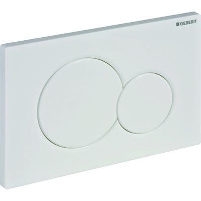 Geberit 115.770.11.5 Sigma01 Dual Flush Plate White Alpine