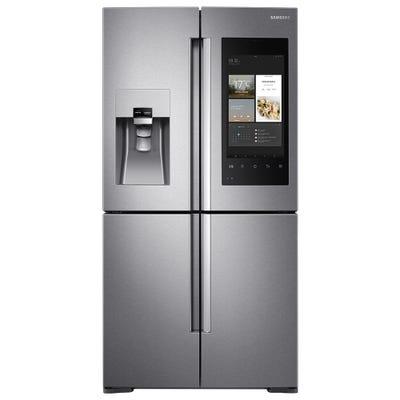 Samsung RF56M9540SR/EU Free-Standing 908mm American Fridge Freezer Stainless Steel