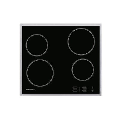 Samsung C61R1AAMST/EU 60cm Touch Control Ceramic Hob Black Glass