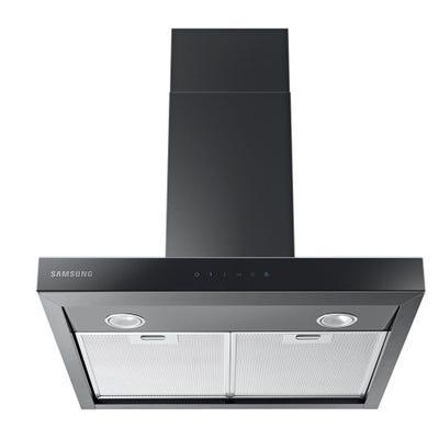 Samsung NK24M5070BM/UR 60cm Box Chimney Hood Touch Control Black