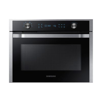Samsung NQ50K5130BS/EU Built In 50L Compact Microwave Steel & Black