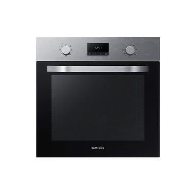 Samsung NV70K1340BS/EU 60cm Dual Fan Single Oven Steel & Black