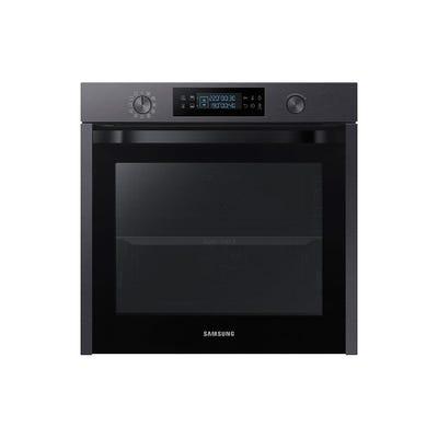 Samsung NV75K5571RM/EU 60cm Single Oven With Dual Cook Matt Black