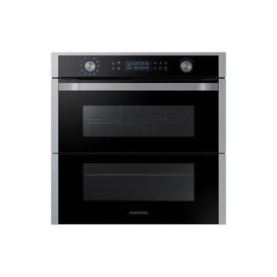 Samsung NV75N7647RS/EU 60cm Dual Flex Single Oven Steel & Black