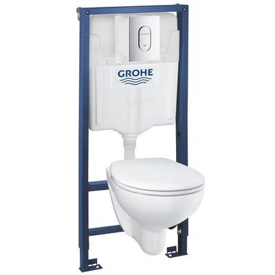 Grohe Solido Bau 5 In 1 Toilet Bundle
