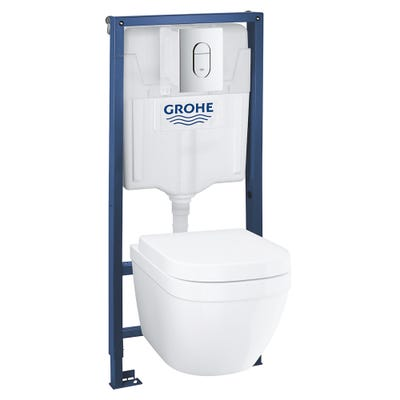 Grohe Solido Euro Complete 5 In 1 Toilet Bundle