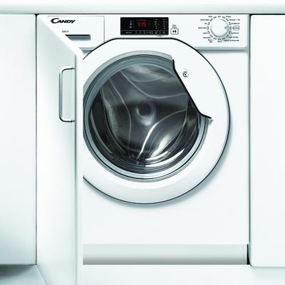 Candy CBWM 816D-80 Fully Integrated 8kg 1600 Spin Washing Machine
