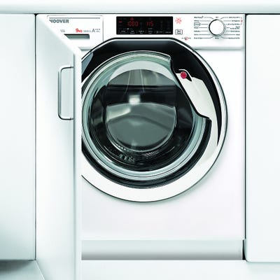 Hoover HBWMO 96TAHC-80 Fully Integrated 9kg 1600 Spin Washing Machine