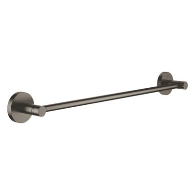 Grohe Essentials Towel Rail 450mm Brushed Hard Graphite