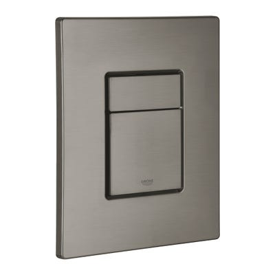 Grohe Skate Cosmopolitan Flush Plate Brushed Hard Graphite