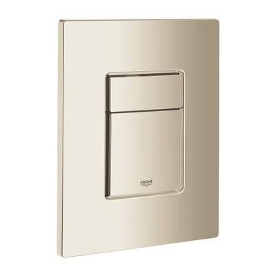 Grohe Skate Cosmopolitan Flush Plate Polished Nickel