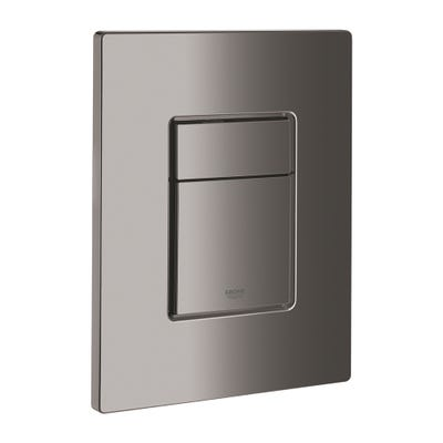 Grohe Skate Cosmopolitan Flush Plate Polished Hard Graphite