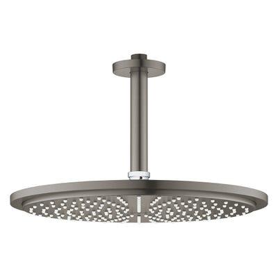 Grohe Rainshower Cosmopolitan 310 Ceiling Shower Set Brushed Hard Graphite