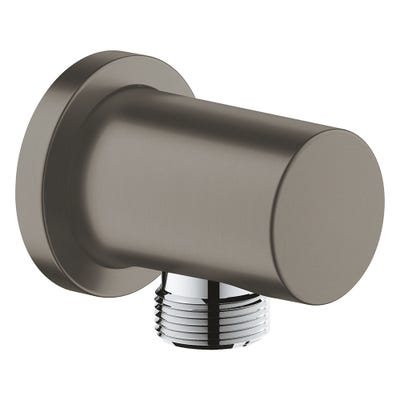 Grohe Rainshower Shower Outlet Elbow Brushed Hard Graphite