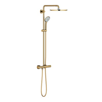 Grohe Euphoria 310 Thermostatic Shower System Cool Sunrise