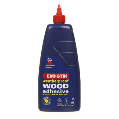 Evo-Stik Resin 'W' Weatherproof Wood Adhesive