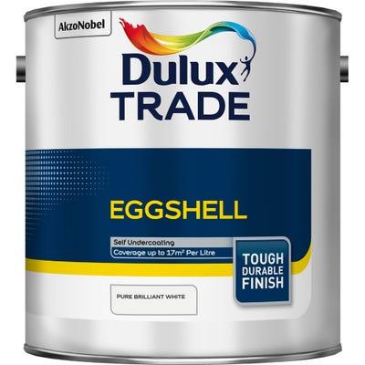 Dulux Trade Eggshell Pure Brilliant White