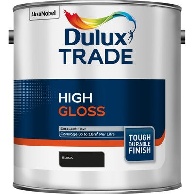 Dulux Trade High Gloss Black