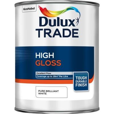 Dulux Trade High Gloss Pure Brilliant White