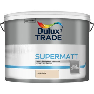 Dulux Trade Supermatt Magnolia 10L