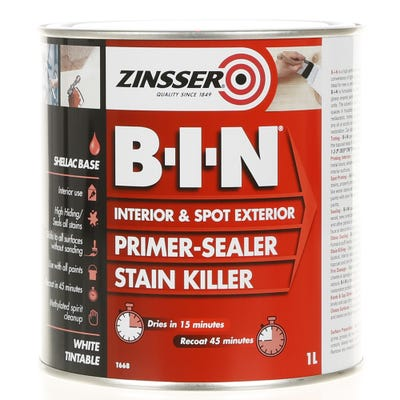 Zinsser B-I-N Interior Primer Sealer White