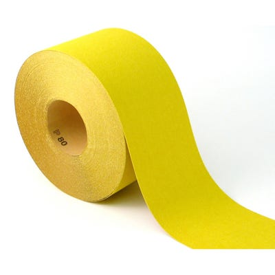 Builder Depot Contractor Yellow Ally Oxide Sandpaper 50m Roll