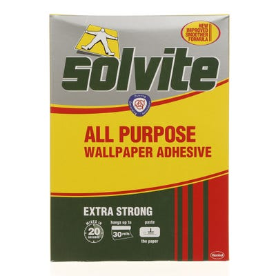 Solvite All Purpose Wallpaper Adhesive - 30 Roll