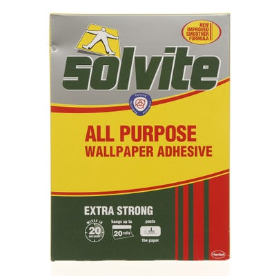 Solvite All Purpose Wallpaper Adhesive - 20 Roll