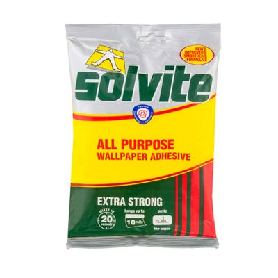 Solvite All Purpose Wallpaper Adhesive Sachet