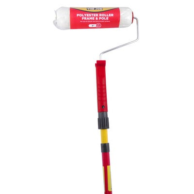 Fit For The Job 9'' Paint Roller & Pole Set