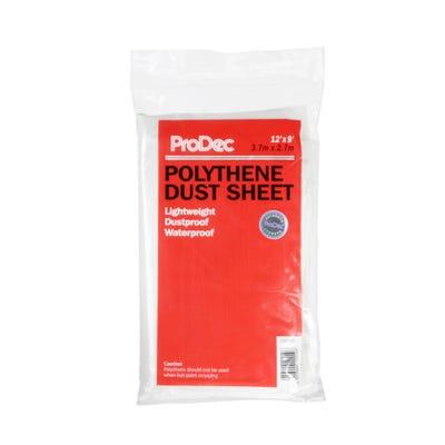 ProDec Polythene Dust Sheet 12' x 9'