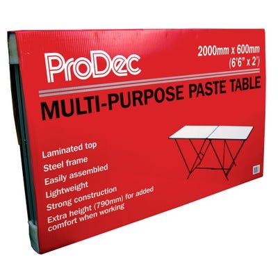 ProDec Folding Paste Table