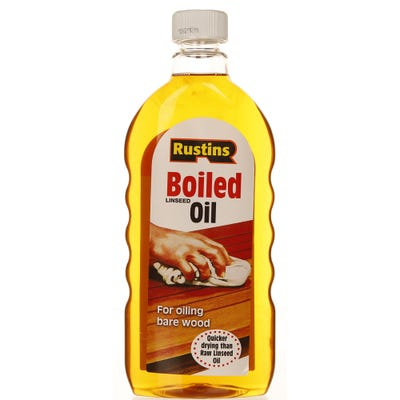 Rustins Boiled Linseed Oil 500ml
