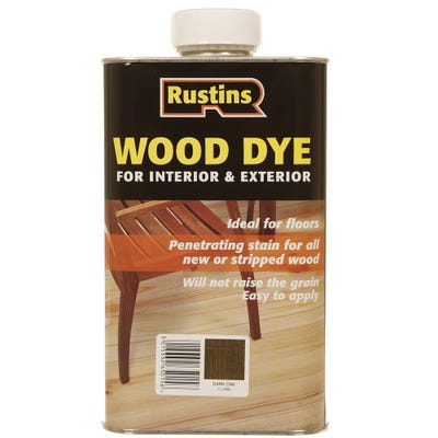 Rustins Dark Oak Wood Dye Internal & External