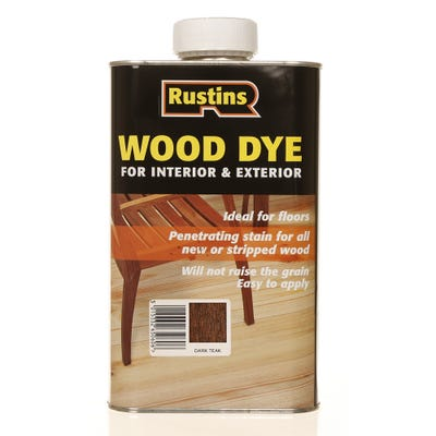 Rustins Dark Teak Wood Dye Internal & External