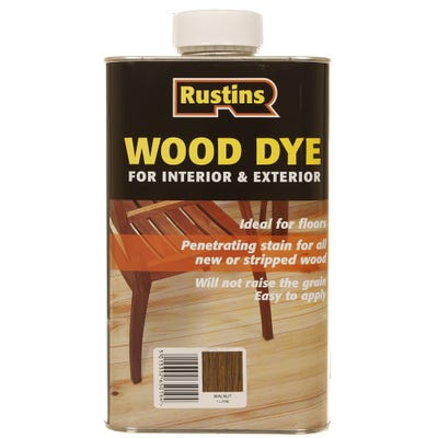 Rustins Walnut Internal & External Wood Dye