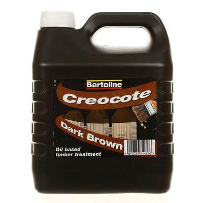 Bartoline Creocote Dark Brown 4L