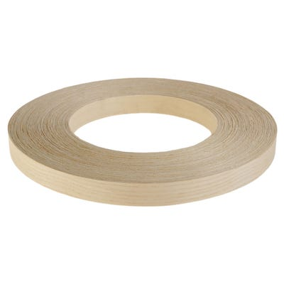 22mm Ash Iron On Edging Tape 50m