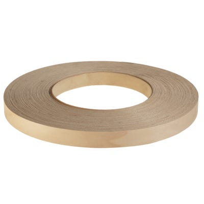 22mm Maple Iron On Edging Tape 50m