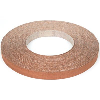 22mm Sapele Iron On Edging Tape 50m