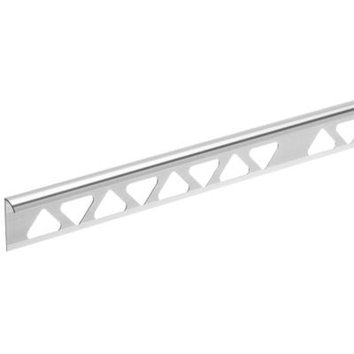 Homelux 6mm Silver Tile Trim 2.44m