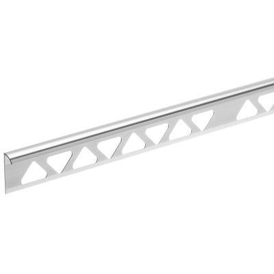 Homelux 9mm Silver Tile Trim 2.44m