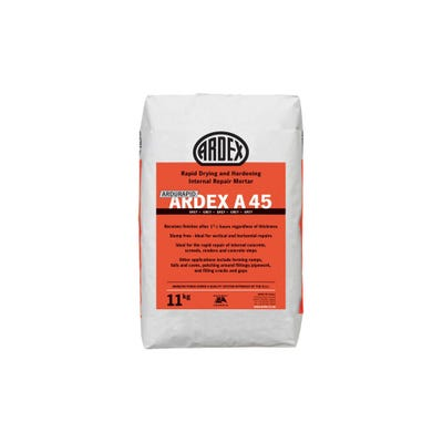 Ardex A45 Rapid Drying Repair Mortar 11Kg