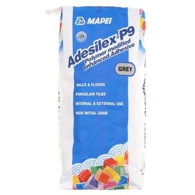 Mapei Adesilex P9 Grey Porcelain Adhesive 20Kg