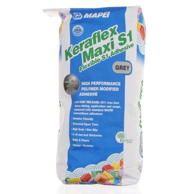 Mapei Keraflex Maxi S1 Grey Flexible Adhesive 20Kg